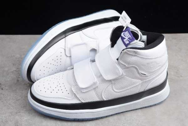 Air Jordan 1 Retro High Double Strap Concord White Black AQ7924-107