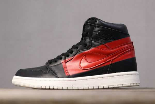 "Men' s Air Jordan 1 High OG Defiant ""Couture"" Black/Gym Red BQ6682-006"