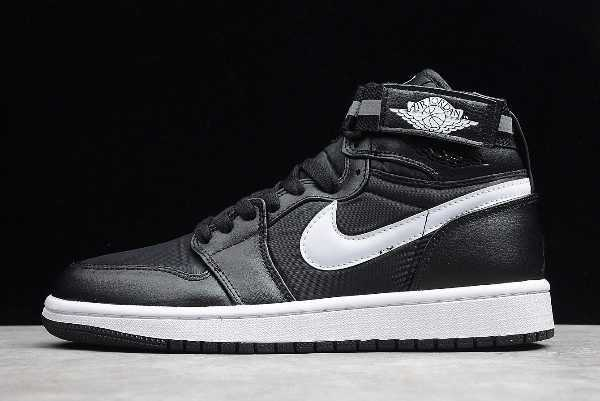 Air Jordan 1 High Strap ' M' Black/Dark Grey-White 342132-003