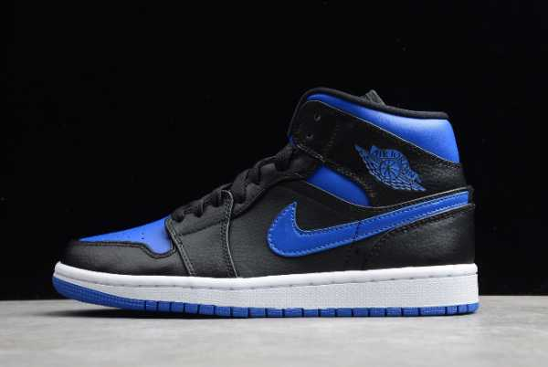 554724-068 New Air Jordan 1 Mid Royal 2020 For Sale