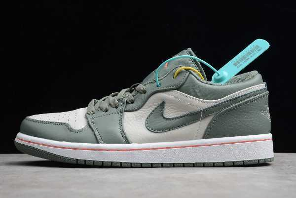 2019 Air Jordan 1 Low Military Green Mens Size 553558-121