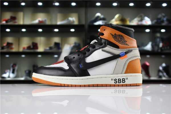 "OFF-WHITE x Air Jordan 1 Retro High OG 10X ""Shattered Backboard"" AA3834-005"