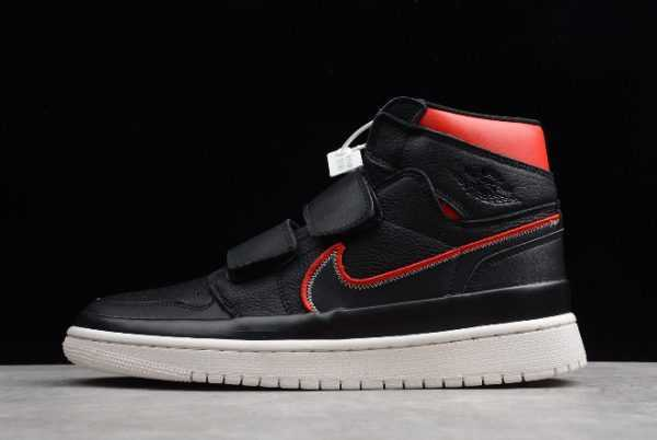 "Latest Air Jordan 1 Retro High Double Strap ""Black Red"" AQ7924-016"