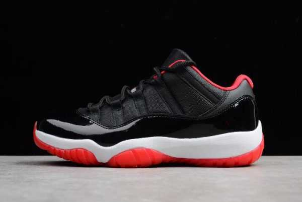 "Air Jordan 11 Retro Low ""Bred"" Black/True Red-White 528895-012"