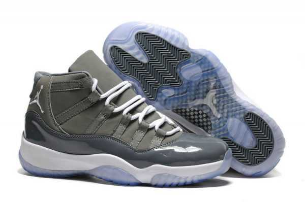 Air Jordan 11 Retro ' ool Grey' Medium Grey/White Release in 2018