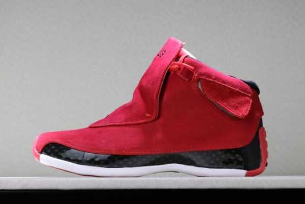 2018 Air Jordan 18 ' oro' Gym Red/Black Shoes AA2494-601 For Sale