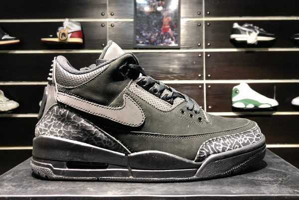 2020 New Air Jordan 3 Tinker Black Cat AJ3-902027 For Sale