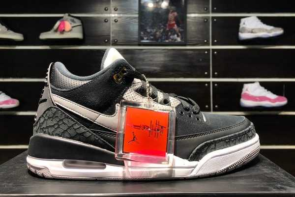 Black Cement Air Jordan 3 Tinker CK4348-007 For Sale