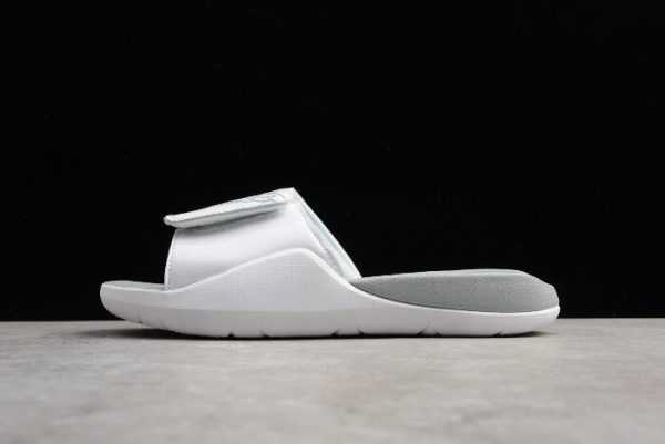 Nike Air Jordan Hydro 7 Slide White/Pure Platinum Sandals Online Sale